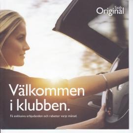 Original parts Club, 8 pages, 2015, Swedish language