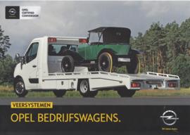 Commercials with air suspension leaflet, 2 pages, DIN A4-size, 2015, Dutch language