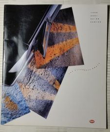 Audi 80/90 USA large sales brochure, 32 pages, 1990, English language