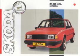 105/120/130 Serie 4-Door Sedan brochure, 8 pages, Dutch language, about 1985