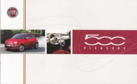 500 Pleasure accessories brochure, 8 pages, 01/2008, Dutch/French language