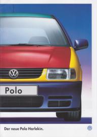 Polo Harlekin brochure, 8 pages,  A4-size, German language, 09/1995
