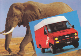 Daily Van postcard, DIN A6-size, French issue