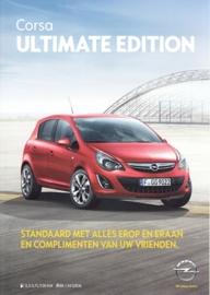 Corsa Ultimate Edition brochure, 2 pages, 2016, Belgium (Dutch)