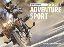 Suzuki Adventure Sport brochure, 16 pages, #99999-ADVUB-A15, 2015, Dutch language