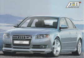 A4 Sedan ABT Tuning postcard, A6-size, German language