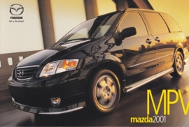 MPV, 2001, US postcard, A5-size
