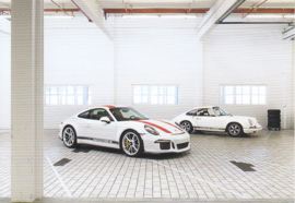 911 R,  A6 postcard, 2016,  German language