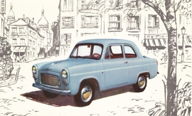 Popular 2-Door Sedan, standard size postcard, UK
