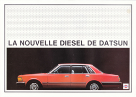280 C Diesel Sedan leaflet, 2 pages, French language, 01/1980 (Belgium)