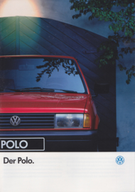 Polo brochure, A4-size, 40 pages, German language, 09/91
