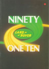 Program Ninety/One-Ten brochure, 20 pages, about 1993, German language