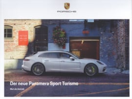 Panamera Sport Turismo brochure, 40 large pages, A4-size, 03/2017, German language