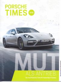 Porsche Times magazine, # 4-2017, 68 pages, PC München Olympiapark