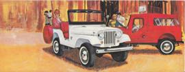 Tuxedo Park Mark IV, US oblong postcard,  23 x 9 cm, 1965