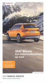 WeCare folder, 6 small pages, 11/2016, Dutch language (Belgium)