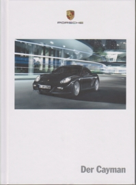Cayman brochure, 140 pages, 01/2011, hard covers, German