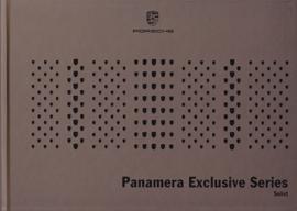 Panamera Exclusive Series brochure, 56 large pages (A4), 10/2014, Dutch language