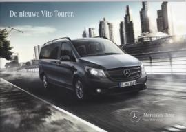 Vito Tourer passenger van brochure, 40 pages, 09/2014, Dutch language