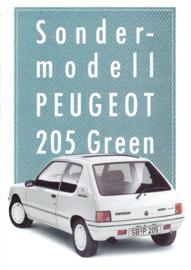 205 Green folder, 4 pages, A4-size, 5/1988, German language