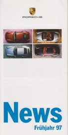 News, Spring 1997, 12 pages, 01/97, German, small size