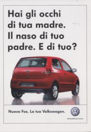 Fox postcard,  A6-size, Citrus Promotion Italy, # 1471