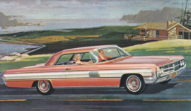 Starfire Coupe, US postcard, standard size, 1962