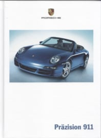 911 Carrera brochure, 144 pages, 10/2004, hard covers, German