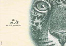 Jaguar,  large postcard, 16 x 11 cm, Turin motorshow 2000