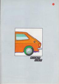 127 brochure, 16 pages, 1971/72, Dutch language