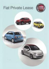 500 Models private lease brochure, 4 pages (A4-size), 06/2015, Dutch language