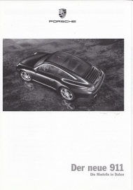 911 Carrera pricelist, 98 pages, 08/2008, German