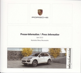 Porsche Press Kit Geneva 2010, DVD with pictures & small booklet, factory-issued,  German/English/French