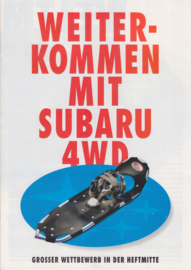 Program 4WD brochure, 16 pages, German language, 2/1997, Swiss