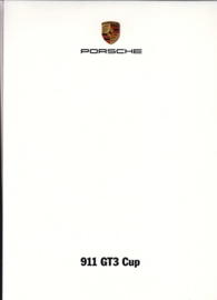 911 GT3 Cup, A6-size set with 11 postcards in white cover, 2013, WPC8 1301 0001 00