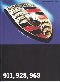 Program brochure 1994, 24 pages + 4 page pricelist, WVK 127 311 94, German, 08/93