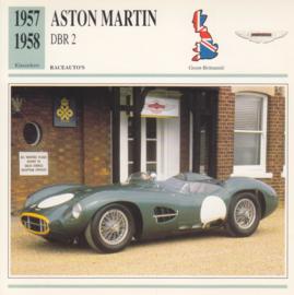 Aston Martin DBR 2 card, Dutch language, D5 019 02-16