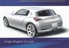 Dodge Slingshot Concept, A6-size postcard, NAIAS 2004