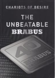 Brabus tuning program brochure, 24 pages, A4-size, 09/2017, English language