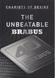 Brabus tuning program brochure, 24 pages, A4-size, 09/2017, English language