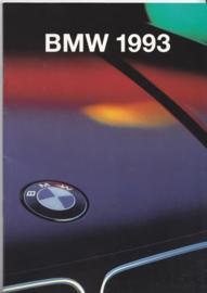 Program 1993 brochure, 48 pages, A5-size, 2/1993, German language