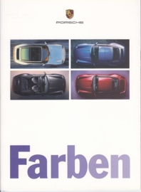Farben (colours) brochure, 12 pages, 05/96, German