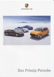 Porsche Principle brochure, 12 pages, 09/2007, German