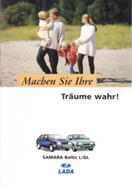 Samara Baltic L/GL brochure, 8 pages, 02/1997, German language (Suisse)