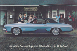 Cutlass Supreme, postcard, USA, 1973