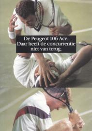 106 Ace brochure, 6 pages, A4-size, 1993, Dutch language