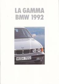 Program 1992 brochure, 20 pages, A4-size, 1/1992, Italian language