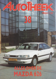 issue # 38, Mazda 626, 32 pages, 10/1990, Dutch language