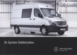 Sprinter double cab brochure, 6 pages, 06/2015, Dutch language