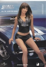 2Fast2Furious, the movie, German freecard by Edgar, # 6336, 2003
